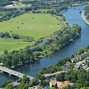 Blick auf die Ruhr - Foto Ruhrverband