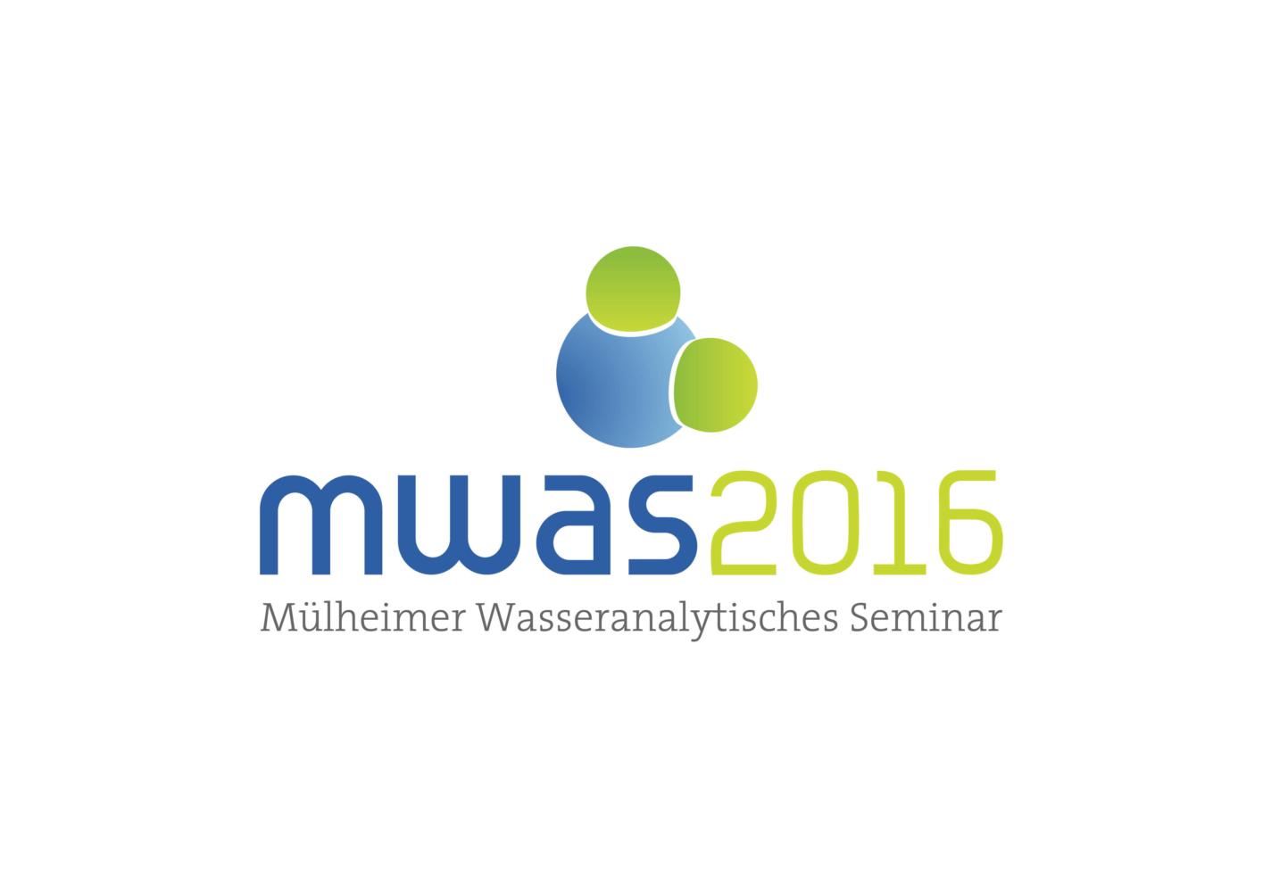 2. Wasseranalytisches Seminar (MWAS 2016): 14. bis 15. September 2016