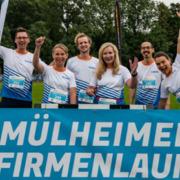 IWW-Laufteam beim Mülheimer Firmenlauf